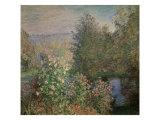 Little Corner of the Garden Reproduction procédé giclée par Claude Monet