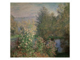 Little Corner of the Garden Giclee Print by Claude Monet