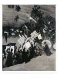 Rehearsal of the Pasdeloupe Orchestra Giclee Print by John Singer Sargent