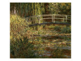 Le Bassin Aux Nympheas: Harmonie Rose Giclee Print by Claude Monet