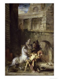 Les Chevaux de Diomede Giclee Print by Gustave Moreau