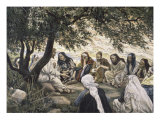 The Sermon on the Mount Giclee Print by James Tissot
