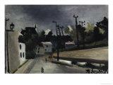 Street Scene Giclee Print by Henri Rousseau