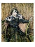 Madame Berthe Bady Giclee Print by Henri de Toulouse-Lautrec
