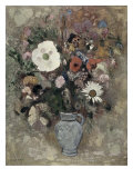 Flower Still Life Giclee Print by Odilon Redon