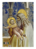 Presentation at the Temple, Detail Giclee Print by Giotto di Bondone