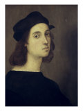 Auto-portrait Reproduction procédé giclée par  Raphael