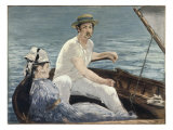 Boating Giclee Print by Édouard Manet