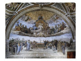 La Disputa (Disputation of the Holy Sacrament) Giclee Print by Raphael 