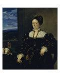 Portrait of Eleonora Gonzaga Della Rovere Giclee Print by  Titian (Tiziano Vecelli)