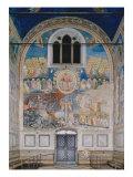 The Last Judgement Giclee Print by  Giotto di Bondone
