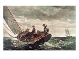 Breezing Up Reproduction procédé giclée par Winslow Homer