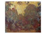 La Maison de Giverny Giclee Print by Claude Monet
