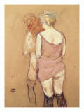 Rue de Moulins: The Medical Inspection Lámina giclée por Henri de Toulouse-Lautrec