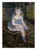 Miss Georgette Charpentier Premium Giclee Print by Pierre-Auguste Renoir