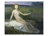 Hope Giclee Print by Pierre Puvis de Chavannes
