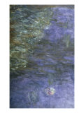 Nympheas, Detail Giclee Print by Claude Monet
