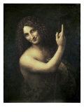 St. John the Baptist Premium Giclee Print by  Leonardo da Vinci
