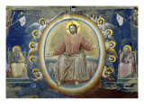The Last Judgement, Detail Giclee Print by  Giotto di Bondone