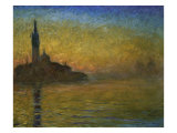 Twilight in Venice Giclee Print by Claude Monet