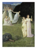 The Reaper Giclee Print by Pierre Puvis de Chavannes