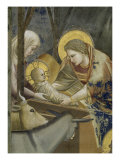 The, Detail Nativity Giclee Print by  Giotto di Bondone