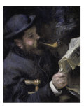 Portrait of Claude Monet Giclee Print by Pierre-Auguste Renoir