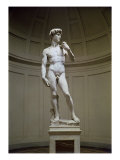 David Giclee Print by Michelangelo Buonarroti 