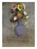 Bouquet dans un Vase Bleu Giclee Print by Odilon Redon