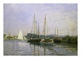 Bateau de Plaisance, Argenteuil Giclee Print by Claude Monet