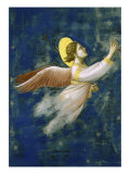 Joseph&#39;s Dream, Detail Giclee Print by Giotto di Bondone 