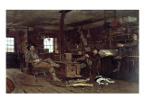 Country Store Giclee Print by Winslow Homer