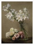 Lys dans un Vase Giclee Print by Henri Fantin-Latour