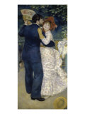 Dance in the Country Giclee Print by Pierre-Auguste Renoir