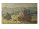 Les Meules Giclee Print by Claude Monet