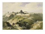 The Church of Purification, Jerusalem Giclée-Druck von David Roberts