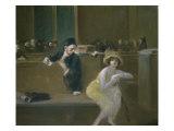 Scene de Tribunal Giclee Print by Jean Louis Forain