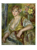 Blonde in Pink Giclee Print by Pierre-Auguste Renoir