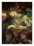 Beatrice Giclee Print by Dante Gabriel Rossetti