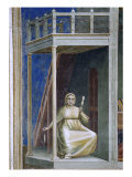 Annunciation to St. Anne, Detail Giclee Print by Giotto di Bondone