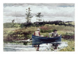 The Blue Boat Giclee Print by Winslow Homer