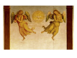 Polittico Di St. Augustine, Angel Detail Giclee Print by Pietro Perugino