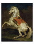 Cheval Cabre Giclee Print by Th&#233;odore G&#233;ricault