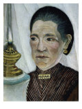 Portrait of the Artist's Second Wife Giclee Print by Henri Rousseau