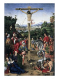 The Crucifixion Giclee Print by Andrea Solario