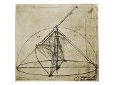 Measuring Instruments Giclee Print by  Leonardo da Vinci