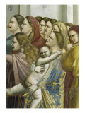 Massacre of the Innocents, Detail Giclee Print by Giotto di Bondone