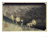 Sudden Rainstorm at Shono Giclee Print by Ando Hiroshige