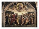 The Almighty with Prophets and Sybils Giclee Print by Pietro Perugino