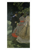 Dejeuner Sur L&#39;Herbe Giclee Print by Claude Monet
